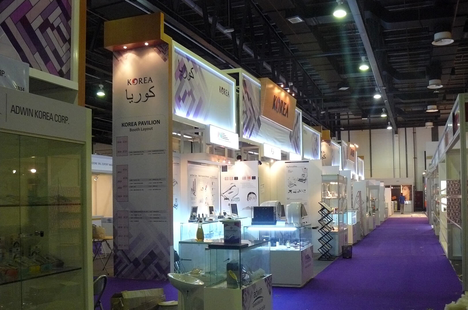 Exhibition Stand Lighting Zone : Exhibition stands in guangzhou